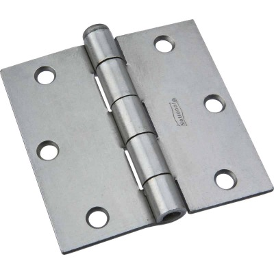 National 3-1/2 In. Steel Removable Pin Broad Hinge