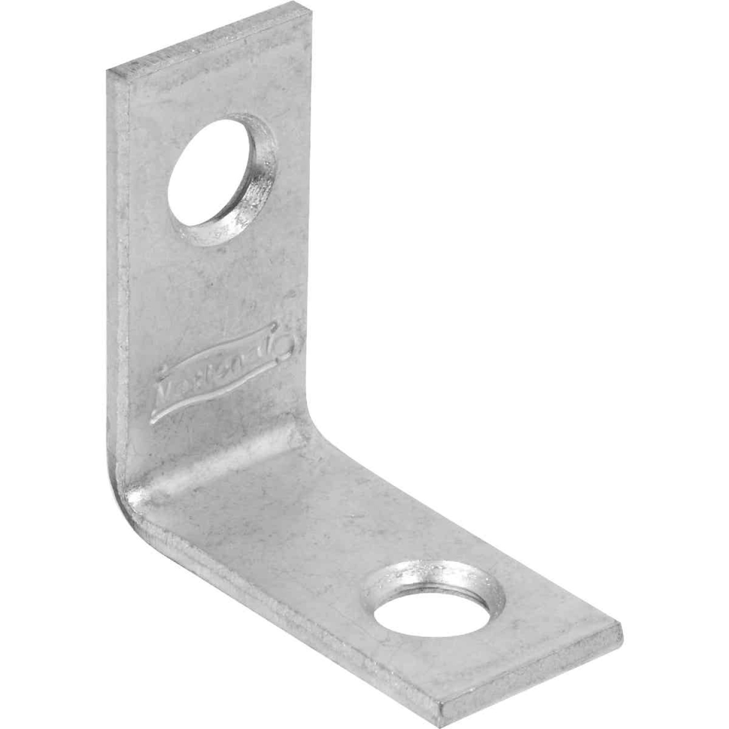 National Catalog 115 1 In. x 1/2 In. Zinc Corner Brace Image 1