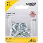 National #8 Zinc Large Screw Eye (6 Ct.) Image 2