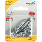National #204 Zinc Small Screw Eye (4 Ct.) Image 2