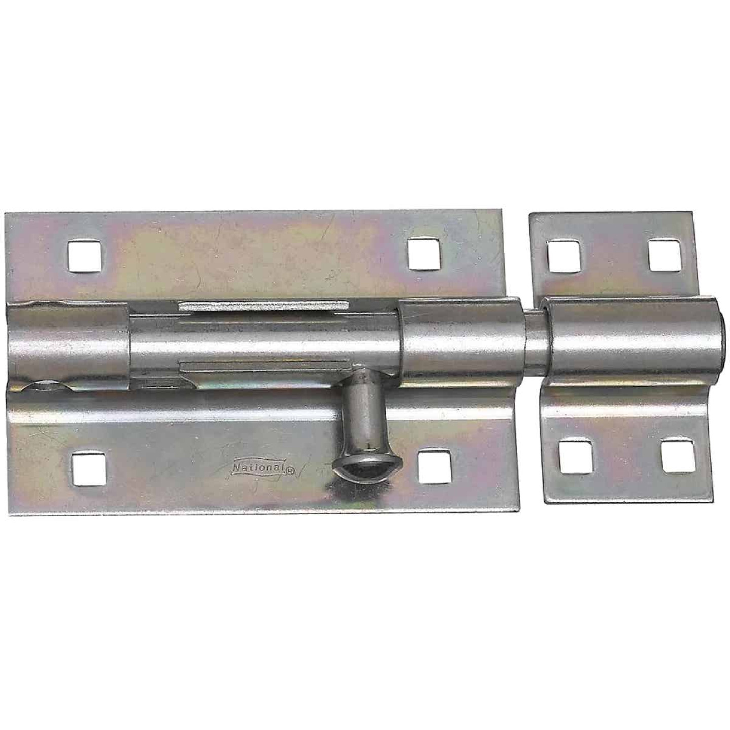 National 5 In. Zinc Extra Heavy Door Barrel Bolt Image 1