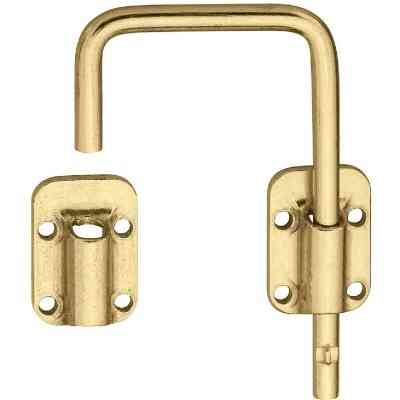 National Door 2-1/2 In. Brass Slide Bolt