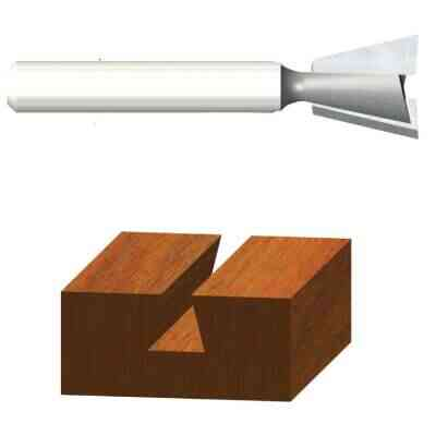 Vermont American Carbide Dovetail 9/16 In. Dovetail Bit