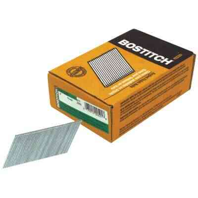 Bostitch 15-Gauge Coated 25 Degree FN-Style Angled Finish Nail, 2 In. (3655 Ct.)