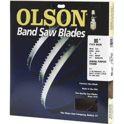 Olson 80 In. x 3/8 In. 4 TPI Skip Flex Back Band Saw Blade
