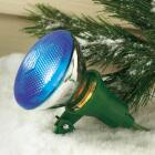 Do it 150W Plastic PAR38 Green Weatherproof Outdoor Lampholder Image 2