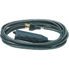 Do it Best 20 Ft. 16/3 3-Outlet Green Extension Cord with Powerblock Image 2