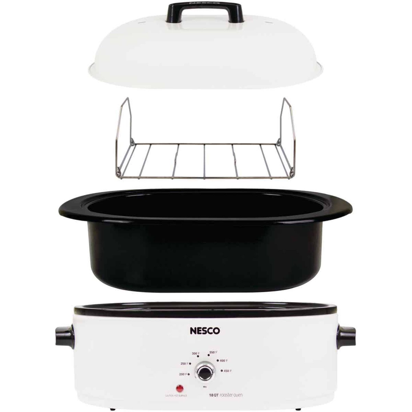 Nesco 18 Qt. Ivory Electric Roaster Image 3