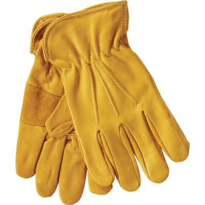 West Chester Protective Gear Men's XL Grain Cowhide Leather Work Glove