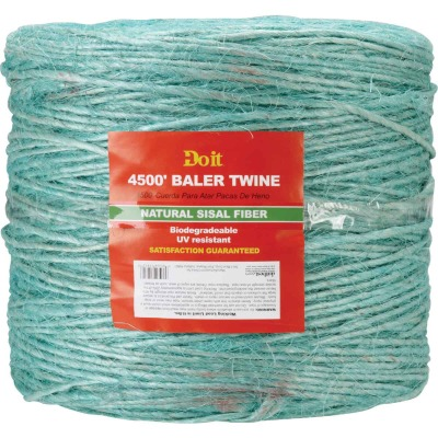 Do it 0.110 In. x 4500 Ft. Green Sisal Fiber Baler Twine