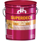 Duckback SUPERDECK Transparent Exterior Stain, Redwood, 5 Gal. Image 1