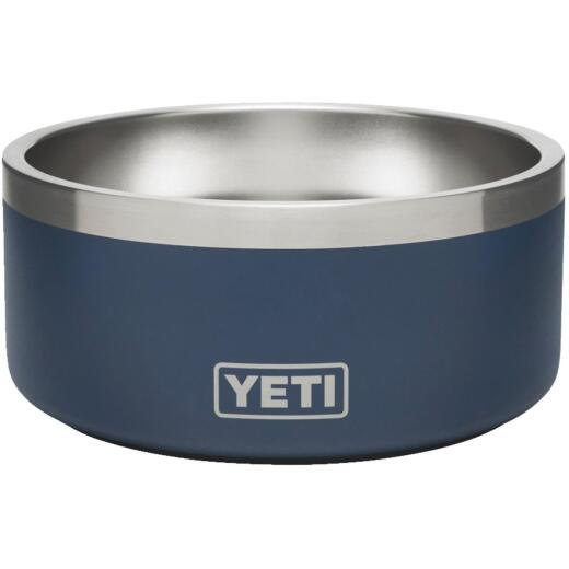 Yeti Boomer 4 Stainless Steel Navy Dog Food Bowl